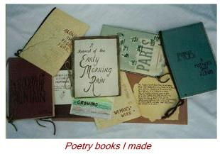 Poetry Books I Made